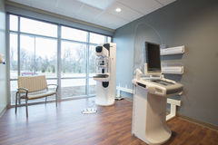 Breast Cancer Screening Room Stock Images