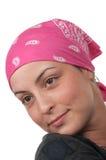 Breast Cancer Survivor. Brave breast cancer survivor 2 months after chemotherapy Stock Photos