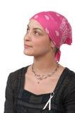 Breast Cancer Survivor. Brave breast cancer survivor 2 months after chemotherapy Stock Images