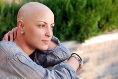 Breast Cancer Survivor Stock Image