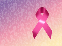 Breast cancer symbol Royalty Free Stock Photography