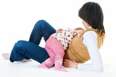 Breast-feeding Royalty Free Stock Image