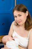 Breast feeding Royalty Free Stock Photography