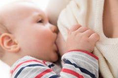 Breast-feeding Royalty Free Stock Photo