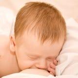 Breast feeding a newborn Stock Photography