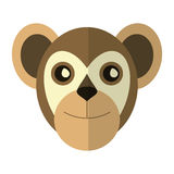 Breasted capuchin primate brazil fauna. Vector illustration eps 10 Stock Images