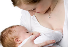 Breastfeeding Stock Photography