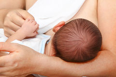 Breastfeeding Obraz Stock