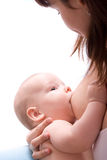 Breastfeeding Royalty Free Stock Photo