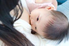 breastfeeding Royaltyfria Foton