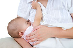 breastfeeding Arkivfoto