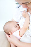 Breastfeeding Stock Photography