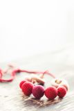 Breastfeeding beads Stock Images
