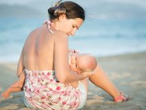 Breastfeeding Royalty Free Stock Images