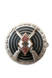 Breastplate (badge) for excellent (perfect) firing Royalty Free Stock Photo