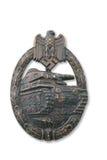Breastplate tedesco (distintivo) per l'attacco del serbatoio Fotografia Stock Libera da Diritti
