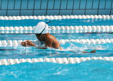 Breaststroke Royalty Free Stock Photography