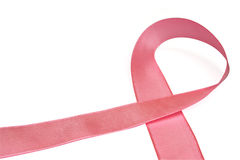 breat λευκό κορδελλών καρκί&nu Στοκ εικόνα με δικαίωμα ελεύθερης χρήσης