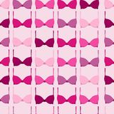 Breat cancer campaign pink bra seamless pattern Stock Photo