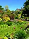 Breath of Fresh Air. Chanticleer Gardens in the Springtime Stock Image