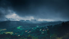 Breath taking viewpoint. Royalty Free Stock Photo