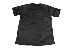 Breathable polyester sports T-shirt royalty free stock photography