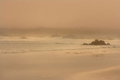 Breathe. Seascape in the early morning Royalty Free Stock Image