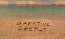 Free Breathe Deeply Royalty Free Stock Image - 58137106