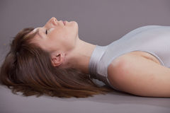 Breathing And Yoga Royalty Free Stock Photos