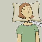 Breathing Tube Stock Photo