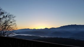 Breathtaken Mountain View zdjęcie stock