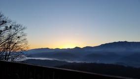 Breathtaken By Mountain View stock photo