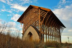 Breathtaking Christian Shrine Stock Image
