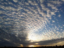 Breathtaking Clouds Stock Image