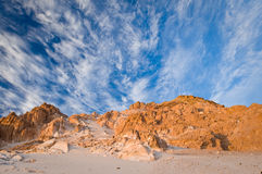 Breathtaking desert landscape Stock Photos