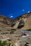 Breathtaking Himalayan Vista. A beautiful Himalayan view in Zanskar royalty free stock photo