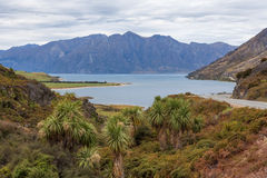 Breathtaking Lake Hawea, South Island, New Zealand Royalty Free Stock Photography