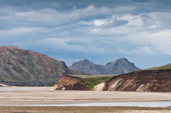 Breathtaking Landmannalaugar mountains, Iceland Royalty Free Stock Image