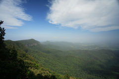 Breathtaking Landscape. Beautiful landscape view from the top at North Queensland, Australia Royalty Free Stock Image
