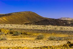Breathtaking landscape of the desert Stock Photo