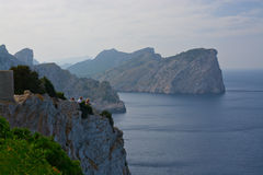 Breathtaking Mediterranean vistas Royalty Free Stock Images