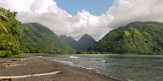 Breathtaking Mo'orea francuski Polynesia Obraz Royalty Free