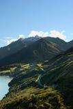 Breathtaking Road-trip. Breathtaking road trip at New Zealand Stock Photo