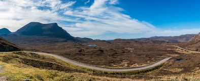 Breathtaking rural mountain landscape royalty free stock image