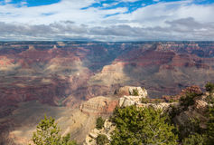 Breathtaking scenic view of landscape in Grand Canyon National Park, Arizona, US Royalty Free Stock Image