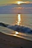 Breathtaking Sunrise at the Shore Royalty Free Stock Photo