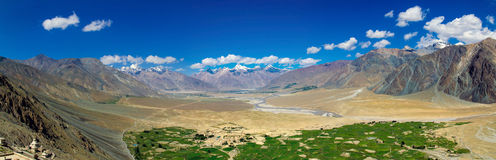 Breathtaking Valley panorama Stock Photo