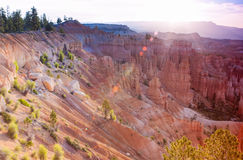 Breathtaking View of Bryce Canyon as Viewed From Sunrise Point a Stock Photos