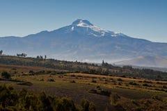 Breathtaking view of Cayambe volcano, Ecuador Royalty Free Stock Image