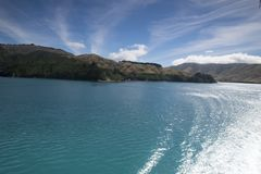 Amazing lakes in New Zealand d.y. Breathtaking view Clean blue Amazing lakes in New Zealand d.y Royalty Free Stock Images